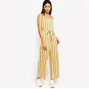 TOPSHOP Humbug Striped Boiler Jumpsuit Sz 6 US